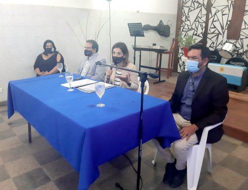 La directora provincial de Relaciones Institucionales y Culto se reunió con referentes religiosos del departamento Junín